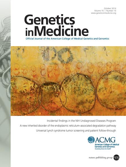 Картинки по запросу Genetics in Medicine journal